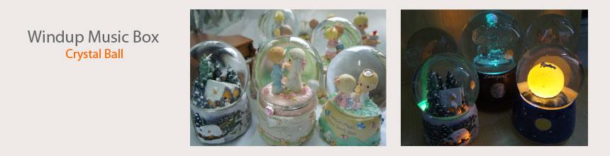 crystal ball music box