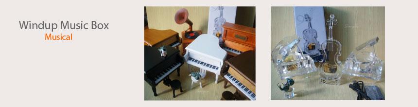 windup musical music box